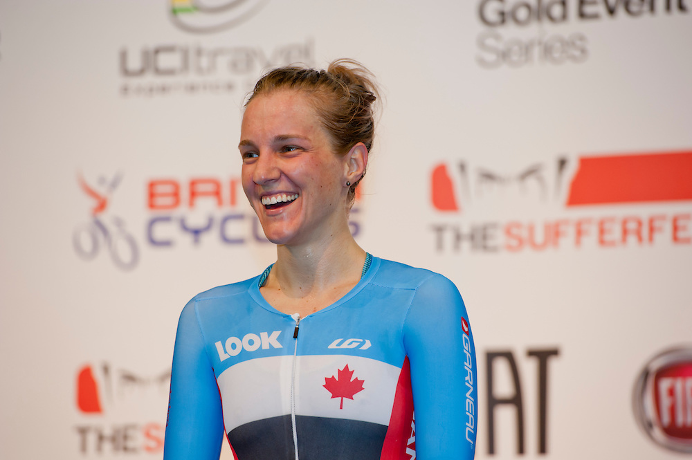 Laura Brown is a veteran of Canada s medal winning Women s Team Pursuit  squad. The Vancouver-based rider came to cycling from gymnastics 45a93ed8b