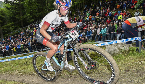 EMILY BATTY 13TH AT MTB WORLD CUP #2 - News